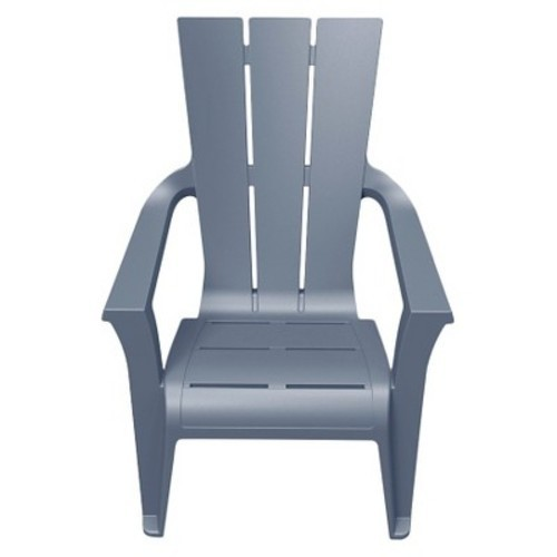 ... Curver Outdoor Resin Adirondack Chair   Gray ...