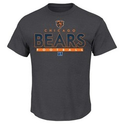 NFL Chicago Bears Men's Short Sleeve T-Shirt - Charcoal - Size: Medium 1549326