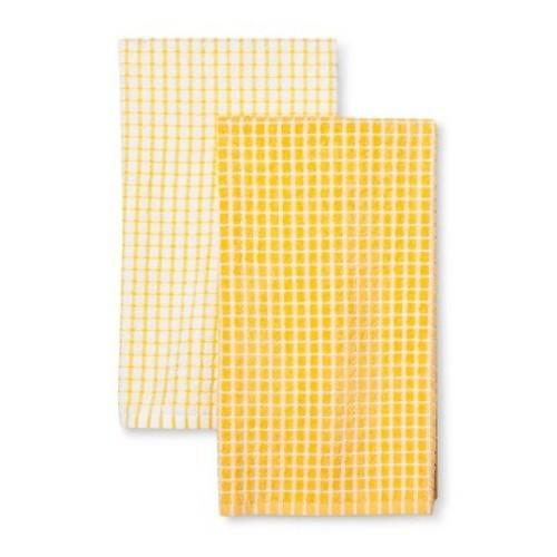 Gold Kitchen Towel 2pk Room Essentials Check Back Soon Blinq