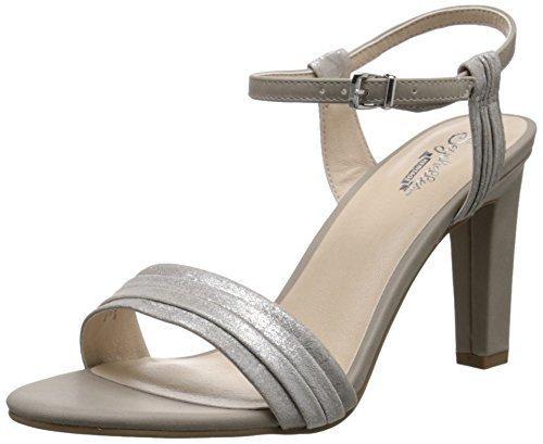 6b894a42806 Seychelles Women s Prime Ankle Strap Sandal - Silver Stone - Size ...
