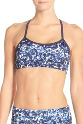 Beyond Yoga Women's Print Racerback Sports Bra - Wet Ink - Size: L 1560766