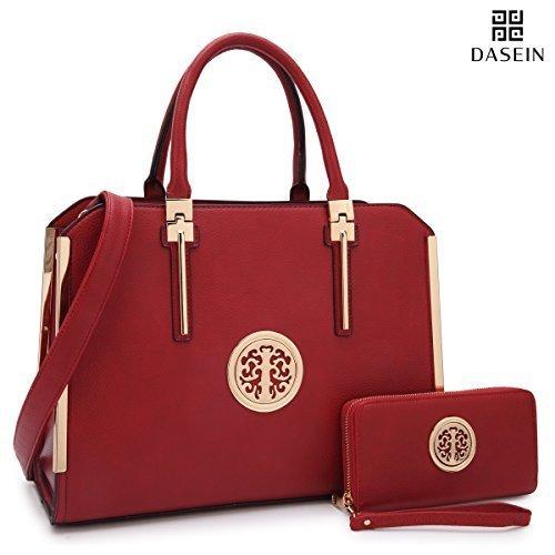 c13fa4aa4 ... Women Large Designer Handbags Satchel Purses Structured Briefcase  Shoulder Bags Work Bags for 13 Laptop Tablet ...