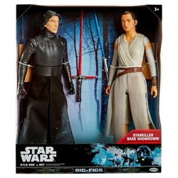 "Star Wars Kylo Ren vs. Rey Action Figure 18"""" - 2 pk"" 1569914"