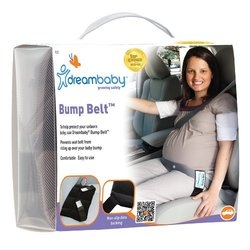 Dreambaby Bump Belt Seat Belt Adjuster for Expecting Mothers - Black