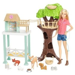 Mattel Barbie Animal Rescuer Doll and Playset