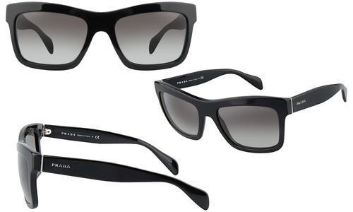 619672385ee24 Prada Women s Sunglasses - Black Grey Gradient (SPR 25Q 1AB0A7 ...