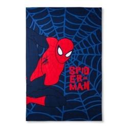 Spider-Man  Web Blue Bed Blanket (Twin) 1580882