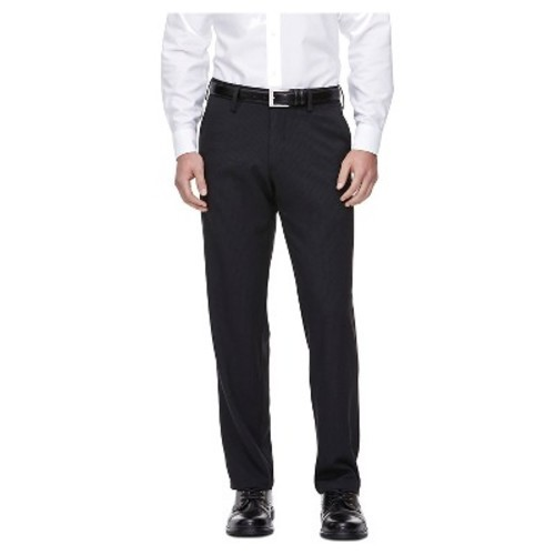 Haggar h26 men 39 s straight fit performance pants black for Haggar forever new shirts