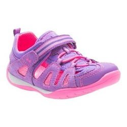 Stride Rite Toddler Girls' Surprize Kora Hiking Sandals - Purple - Sz: 11 1584502