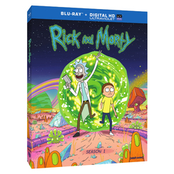 Rick and Morty  The Complete First Season  Blu-ray UltraViolet 1592866