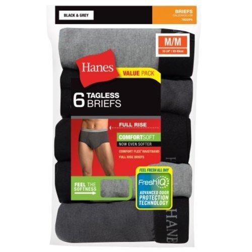 886755503af0 Hanes Men's Comfort Flex Waistband Dyed Briefs 6 Pack - Multi - Size ...