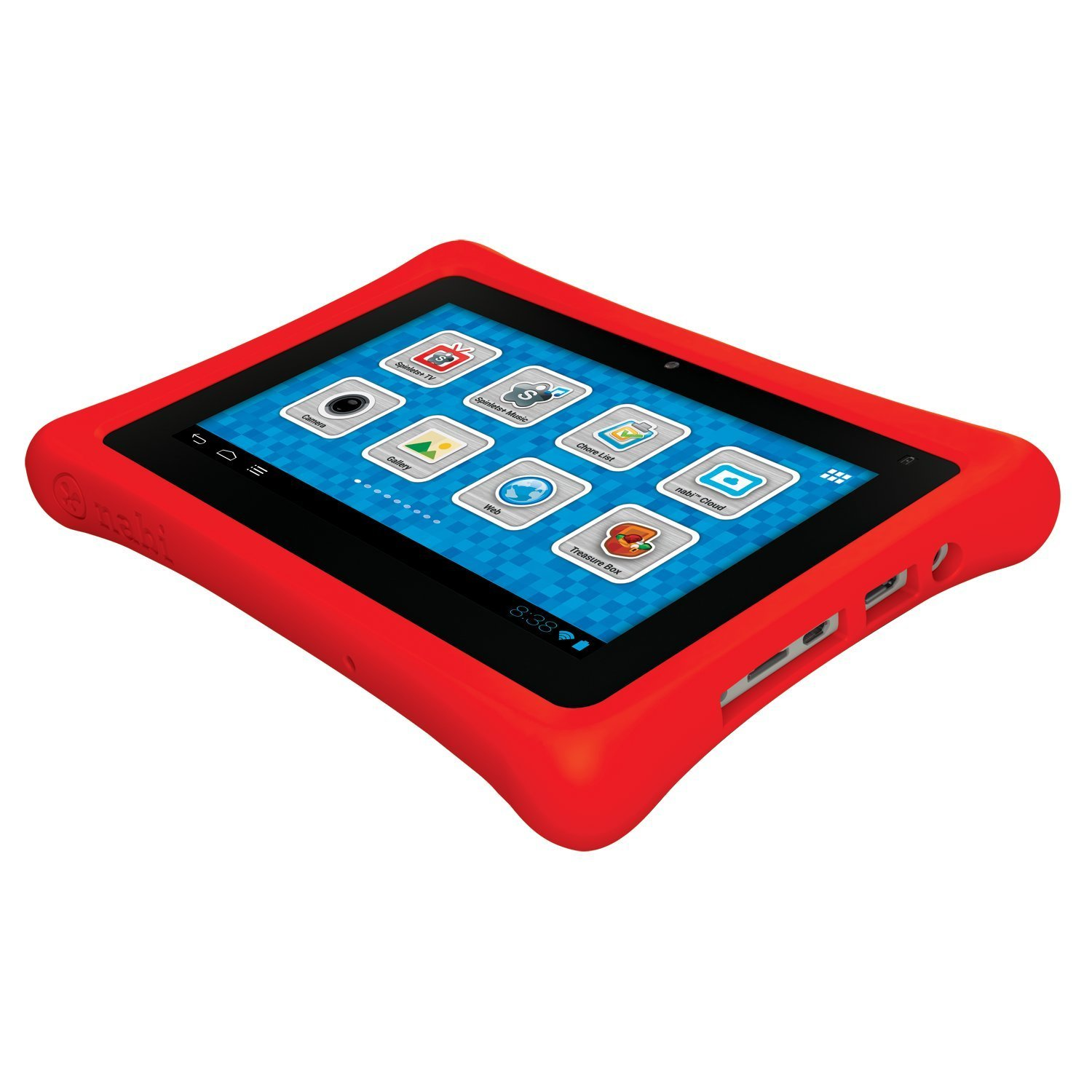 "NABI 2 7"" Kids Tablet 8GB Android 4 Black Red NABI2NV7A Check"