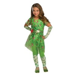 Girls' DC  Superhero Poison Ivy Deluxe Costume - M (7-8) 1609314