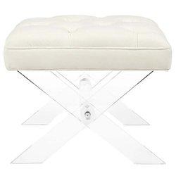 Peachy Modway Swift Bench Ivory Eei 2323 Ivo Creativecarmelina Interior Chair Design Creativecarmelinacom