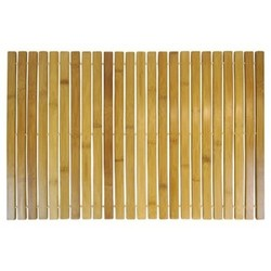 Spa Sensations Bamboo Wood Step Out Bath Mat Tan - Ginsey VCNY 1613033