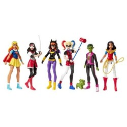 DC Super Hero Girls' Action Figure - Pack of 6 1613558
