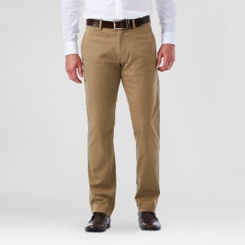 Haggar h26 men 39 s straight fit sustainable chino pants for Haggar forever new shirts