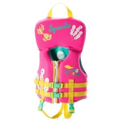 Speedo Infant Kids Neoprene Lifevest - Pink 1618399