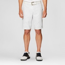 Jack Nicklaus Men's Windowpane Golf Shorts - White 38 1619904