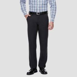 Haggar H26¤ Men's Performance 4 Way Stretch Slim Fit Trouser Pants - Black 29x30