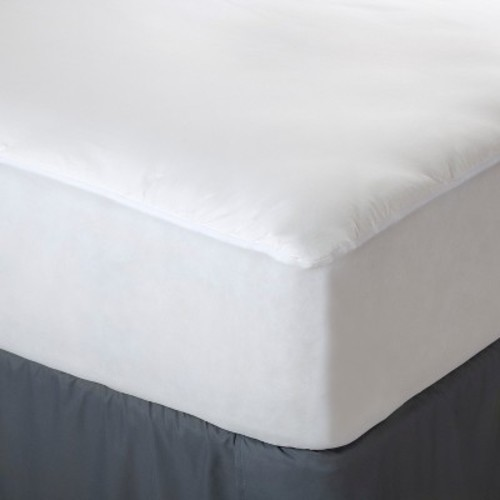 Allerease Complete Allergy Protection Mattress Pad White Queen