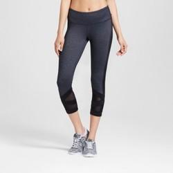 Women's Premium Mesh Leggings - C9 Champion  Black Heather XL 1632737