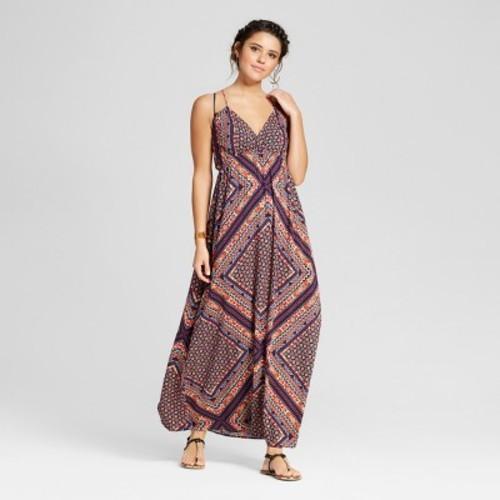 ae5e12e0807 Women s Triangle Maxi Dress - Xhilaration (Juniors ) Mulitcolor L ...