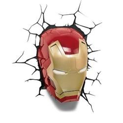 Marvel 3D Wall Nightlight - Iron Man Mask 1635768
