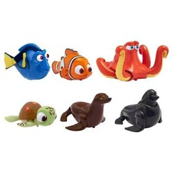 Finding Dory Swigglefish Characters - Multi-Color - Set of 6 1643314
