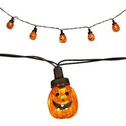 Pumpkin-Shaped LED Lights String 20-count NEW Dorm Decor