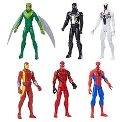 Marvel Spider-Man Titan Hero Series Collection Exclusive 6pk 1648071