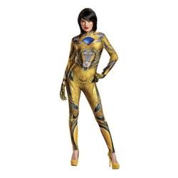 Power Rangers Women's Yellow Ranger Costume - Yellow - Size: Small