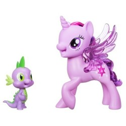 My Little Pony Princess Twilight Sparkle Spike the Dragon Friendship Duet 1667341