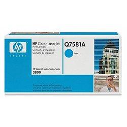 HP Color LaserJet Print Cartridge - Cyan (Q7581A)