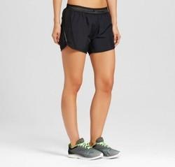 Women's Run Shorts - C9 Champion  - Black M 1676180