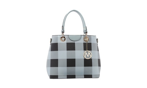 MKF Collection Women s Gaby Handbag - Light Blue - Size One Size ... f0f52e6ed633b