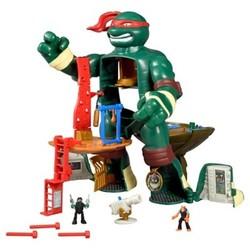 Teenage Mutant Ninja Turtles Micro Mutants Raph's Train & Battle Playset 1687603