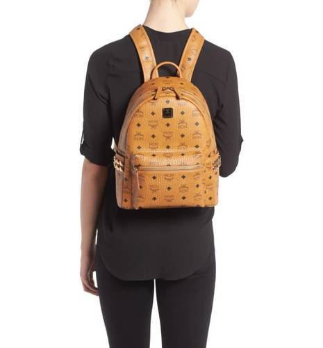 f06d42690 MCM Stark Side Stud Backpack - Cognac - Size: Small - Check Back ...