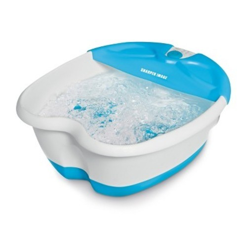 Sharper Image Foot Spa Massager With Bubbles And Heat Check Back