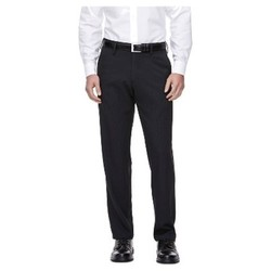 Haggar H26 Men's Performance 4 Way Stretch Classic Fit Trouser Pants - Black 33x32