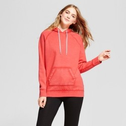 Women's Oversized Hoodie - Mossimo Supply Co.  Orange L 1700231