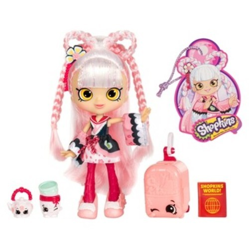 Shopkins Season 8 World Vacation Asia Shoppies Doll