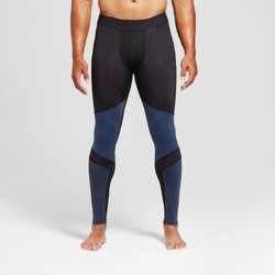 Men's Compression Tight  - C9 Champion  - Black Cruising Blue M 1709138