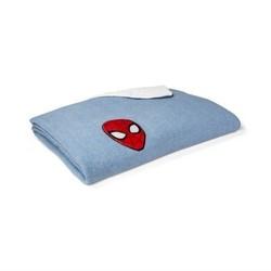 Marvel  Spider-Man Blue Bed Blanket (Full) 1710974