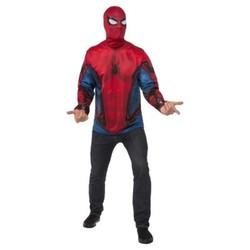 Men's Marvel  Spider-Man Shirt and Mask Costume - XL 1711973