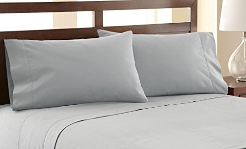 ... Amrapur Overseas 1200 Thread Count Sheet Set   Silver/Sage   Size:  Queen ...