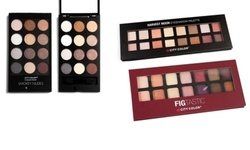 City Color Eyeshadow Palettes with Brush: Smokey Nudes 1727121