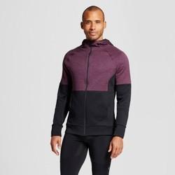 Men's Tech Fleece Full Zip Hoodie - C9 Champion  Burgundy L 1728785