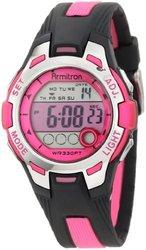 Wristwatch Armitr Blk Pnk Solid 1729135
