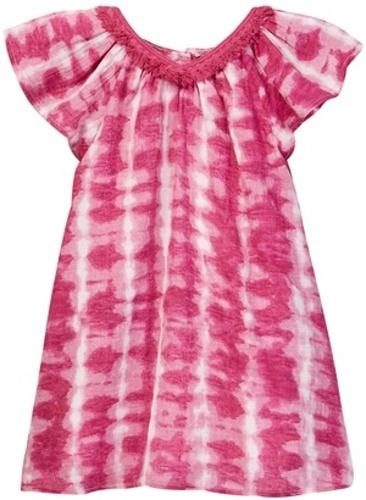 Jessica Simpson Girl s Printed Woven Crepe Dress Fuchsia